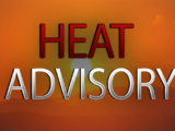 Heat Advisory Until 8:00 PM Sunday