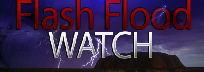 Expired: Flash Flood Watches Issued